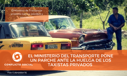 El Ministerio del Transporte pone un parche ante la huelga de los taxistas privados en La Habana