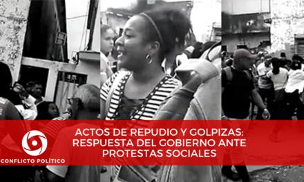 Actos de repudio y golpizas: respuestas del gobierno ante protestas sociales