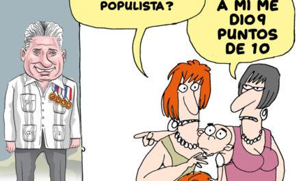 ¿Es Díaz Canel un gobernante populista?