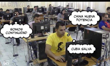 MEMES DE CIBERCLARIAS Y COLAS DE POLLO EN CUBA